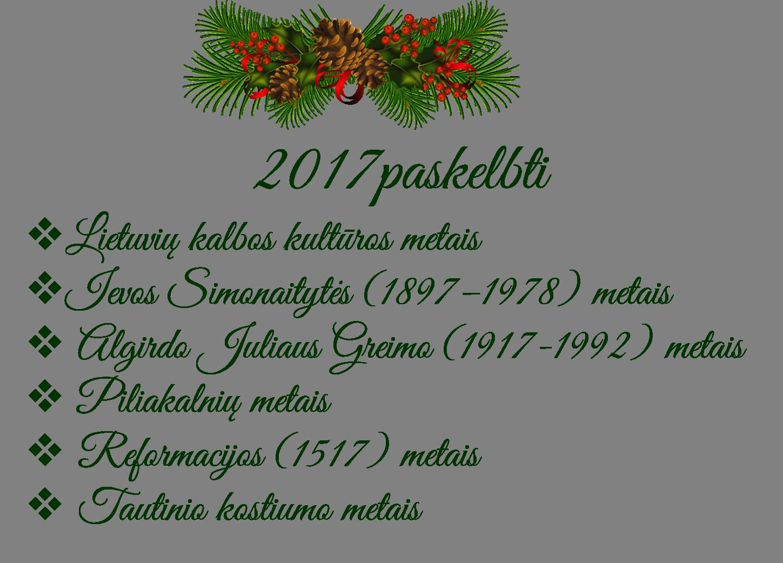 2017-metai