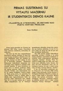 Bradūnas apie Mačernį-Ateitis-1969