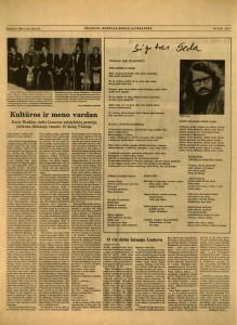 Bradūno žodis-1993 vasario 15 Vilniuje