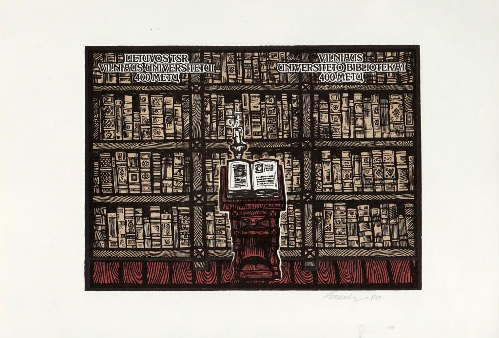 400 metų Vilniaus universiteto bibliotekai (1570 – 1970).